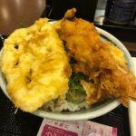 丸亀製麺 ThinkPark店 オリジナル天丼で〆!