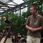 神戸花鳥園のショーがバラエティ豊かになってた!オオハシとペンギンも登場する。オニオオハシのショー楽しい!
