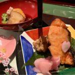 マスの西京焼き、角煮。@なだ万 日本橋店
