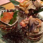 すし波奈 仙台パルコ店  貝類三点盛り合わせ  大好き!