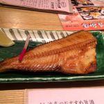 すし波奈 仙台パルコ店  ほっけ焼きー!肉厚です。