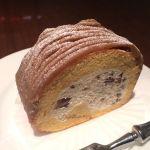 いつもモンブランなので今日はロールケーキにしました