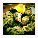 殻付き牡蠣の漁師焼き@オイスターバー ジャックポット 国際ビル店 /やっぱり牡蠣は淡白よりも濃厚に限る(^^)v