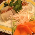 ヴェトナム・アリス:ベトナムへの想いをはせながら(・∀・)蒸し春巻がもちもちで美味しい!!マンゴープリンがなんだか見たことない不思議な盛り方になってるッス(●´-` ●)一度は食べて欲しいなー★★☆
