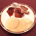 北京&南京ダック。贅沢な食べ比べですな。@旬遊紀