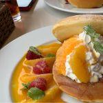 カフェナチュレオレンジ&キャラメルのパンケーキ