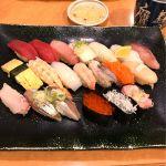寿司 鷹 エルミロード店。いろどり20カンランチ