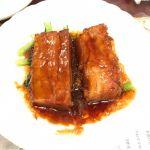 豚バラ肉の醤油煮込み。 お箸で切れる柔らかさ🥢