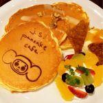 j.s. pancake cafe 吉祥寺パルコ店*チェブラーシカのオレンジパンケーキ