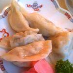 中華園湯で餃子。まずは餃子!