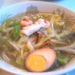 中華園太平燕。熊本名物の太平燕!海鮮スープ春雨って感じです。優しい味で結構、好き。
