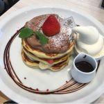 生チョコソースのミルフィーユパンケーキ @パンケーキ専門店 Butter Premium ららぽーと豊洲