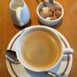 トラットリア コルティブォーノ東京   コーヒー(セット内)   ビルの辺のティールーム   雨も愛しや歌ってる甘いブルース