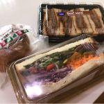 京都駅の志津屋で京都市民のソールフード、ペッパーカルネとビーフサンドに今月の新商品のパストラミビーフとたっぷり彩野菜のサンドを頂きました!