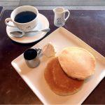 REAL DINING CAFE: ホットケーキ、ブレンドコーヒー