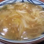 丸亀製麺 ロックシティ守谷店期間限定白菜鶏あんかけうどん