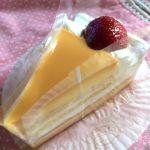 パステル アリオ上尾店 パステルのプリンケーキ♡プリンはプリンのままが美味しいけどこれも美味!