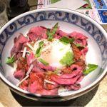 HAL YAMASHITA 大手町 Lounge オーテモリ店 究極のローストビーフ丼