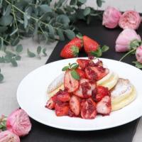 『幸せのパンケーキ銀座店』12/23オープン!限定メニュー「薔薇と国産いちごのパンケーキ」先行販売も