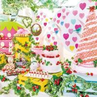 苺畑をテーマにしたデザートブッフェ「ストロベリー・フィールド」開催~ヒルトン東京ベイで1/13から