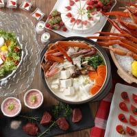 【ウェスティン都ホテル京都】いちごスイーツと蟹が食べ放題「蟹といちごの紅福ビュッフェ」1/4から