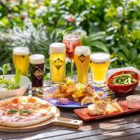 【ヒルトン東京お台場】釜焼きピザと6種クラフトビールを堪能「お台場クラフトビアガーデン」6/1から