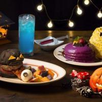 【エッグスンシングス】パンケーキからハンバーガーまで!遊び心満載のハロウィン限定メニュー登場