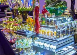結婚式場【青山セントグレース大聖堂】キラキラ輝く宝石をイメージ『光と音のビアホール』開催