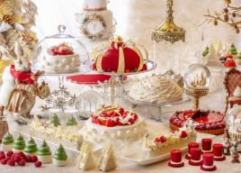 ヒルトン東京のクリスマスデザートビュッフェ『アリスinクリスマス・マジック』