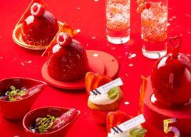 品川・東京マリオットホテル開業5周年記念「マリオットレッドアフタヌーンティー」11/1から