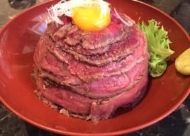東京のローストビーフ丼がすごい店
