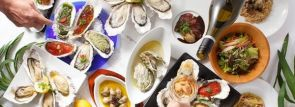 生牡蠣・焼き牡蠣はもちろん牡蠣料理14品+フォアグラ・ローストビーフ等全26品食べ放題!