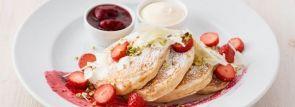 【サラベス】ホワイトデー・スペシャル『ベリーホワイトチョコレートパンケーキ』