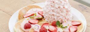 【エッグスンシングス】爛漫のパンケーキ『レアレアパンケーキ~Spring Flower~』登場