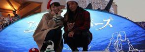"""イルミ点灯ショーに島袋聖南と伊東大輝の""""リアルカップル""""が登場!~横浜・八景島シーパラダイス"""