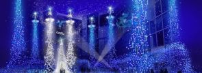 """カレッタ汐留イルミネーション~幻想的な青い光の演出""""カノン・ダジュール""""11/19から"""