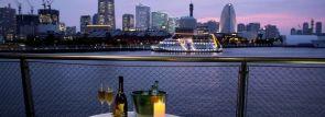 デートで行きたい夜景スポット日本一!横浜港大さん橋にビアガーデンがオープン