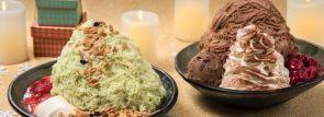 冬限定の美味しさ!ピスタチオかき氷&リッチチョコレートかき氷登場~アイスモンスター