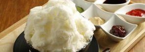 神戸・福岡のレストランで淡雪のようなふわふわ食感のかき氷が期間限定発売!