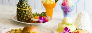 【エッグスンシングス】パイナップルづくしの新メニュー!パンケーキ・ハンバーガー・シェイブアイスなど