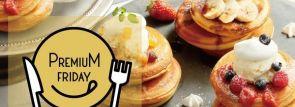 プレミアムフライデー×パンケーキ食べ放題!カフェ&ブックス ビブリオテークで開催