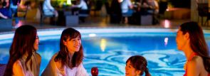 [ホテルニューオータニ大阪]絶景プールサイドビアガーデンGW直前プレミアムフライデーからオープン