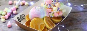 新宿にテイクアウトパンケーキ専門店『BEAR'S SUGAR SHACK』9/2オープン