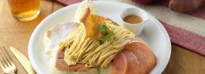 小樽で大人気パンケーキ「ドレモルタオ」より季節限定「キャラメルスイートポテト」新登場