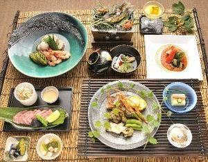 夏の会席料理(イメージ)