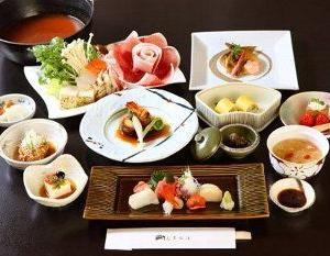 秋・冬の会席料理(イメージ)