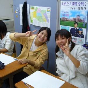 生徒の笑顔が自慢です