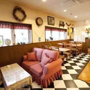 ママ&リキのカフェエリア