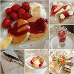 The LoungeSweets&Sandwiches Buffetホテルでいちご狩り*