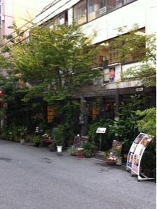 梅田の隠れ家カフェ